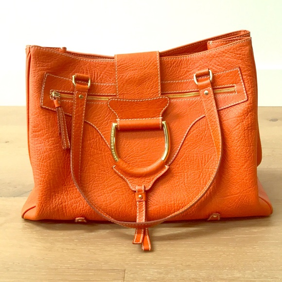 Dolce   Gabbana Bags   Dolce Gabbana Orange Handbag   Poshmark 2817f5de3d